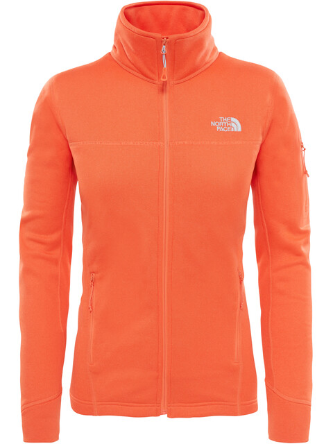 The North Face W's Kyoshi Full Zip Jacket Nasturtium Orange